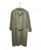 Yves Saint Laurent(イヴサンローラン)の古着「トレンチコート」 グリーン