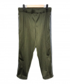 COMME des GARCONS SHIRT(コムデギャルソンシャツ)の古着「19S/S サイドライントラックパンツ」|オリーブ