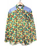 ()の古着「20S/S 総柄シャツ」 マルチカラー
