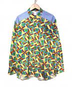 COMME des GARCONS SHIRT(コムデギャルソンシャツ)の古着「20S/S 総柄シャツ」|マルチカラー