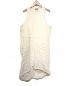 JUNYA WATANABE CdG(ジュンヤワタナベコムデギャルソン)の古着「デザインデニムワンピース」|ホワイト