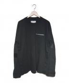 sacai(サカイ)の古着「21S/S Cotton Jersey Long Sleev」|ブラック
