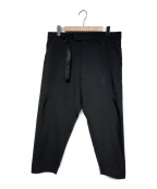 WHITE MOUNTAINEERING(ホワイトマウンテ二アニング)の古着「21S/S OX DARTED PANTS」|ブラック