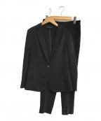 UNTITLED(アンタイトル)の古着「ドレッサーストレッチセットアップスーツ」 ブラック