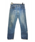 ()の古着「66後期ヴィンテージデニムパンツ」|ブルー