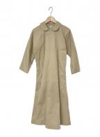 COMME des GARCONS(コムデギャルソン)の古着「コットンプルオーバーコート」 ベージュ