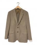 BROOKS BROTHERS()の古着「dondi jersey生地 テーラードジャケット」|ベージュ