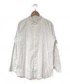 teatora()の古着「KEYBOARD SHIRT」|ホワイト