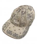 KITH × New Era(キス×ニューエラ)の古着「Bandana Paisley Hat」|ベージュ