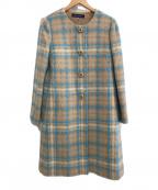 M'S GRACY(エムズグレイシー)の古着「ウールコート」 カーキ
