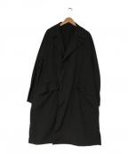 teatora(テアトラ)の古着「20s/s DEVICE COAT」|ブラック