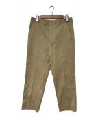 ()の古着「20S/S Idol pant」|ベージュ