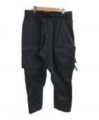 NIKE ACG(ナイキエージーシー)の古着「WOVEN CARGO PANTS」|ブラック