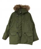 N.HOOLYWOOD × ALPHA(エヌハリウッド×アルファ)の古着「18A/W N-3Bジャケット」|カーキ