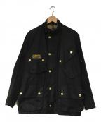 Barbour()の古着「INTERNATIONAL JACKET」|ブラック