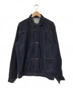 FULLCOUNT(フルカウント)の古着「デニムジャケット」|ネイビー