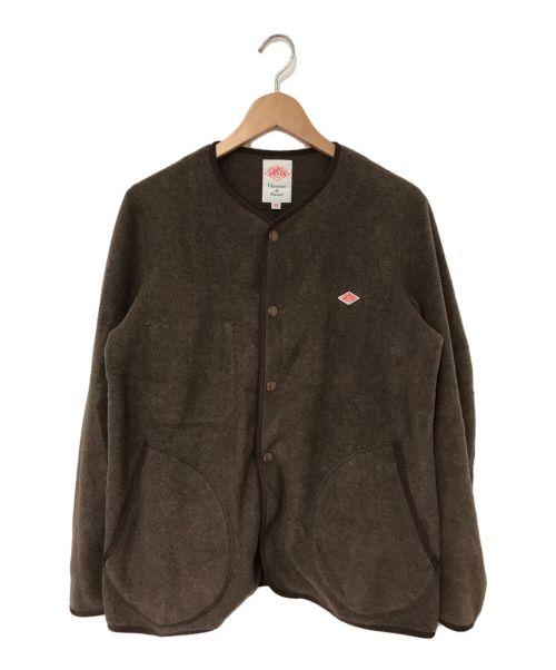 DANTON(ダントン)DANTON (ダントン) フリースジャケット ブラウン サイズ:38の古着・服飾アイテム