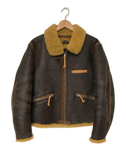 REAL Mcqueen(リアルマックイーン)REAL Mcqueen (リアルマックイーン) B-1フライトジャケット ブラウン サイズ:Sの古着・服飾アイテム