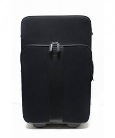 COACH(コーチ)の古着「キャンバス2輪キャリーバッグ」|ブラック