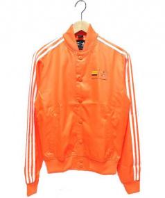 adidas×PHARRELL WILLIAMS(アディダス×ファレル・ウィリアムス)の古着「トラックジャケット」|オレンジ