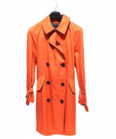 COACH(コーチ)の古着「トレンチコート」|オレンジ