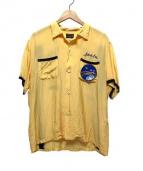 Buzz Ricksons(バズリクソンズ)の古着「ボーリングスカシャツ」 イエロー