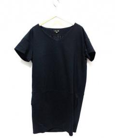 DRAWER(ドゥロワー)の古着「半袖ワンピース」|ブラック