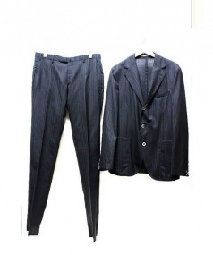 BOGLIOLI(ボリオリ)の古着「3Bスーツ」 ブラック