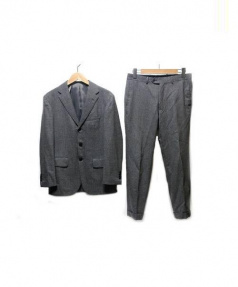 RING JACKET × International Gallery BEAMS(リングヂャケット × インターナショナルギャラリー ビームス)の古着「3Bスーツ」 グレー
