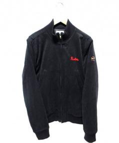 ROTAR(ローター)の古着「スウェード調刺繍ブルゾン」|ブラック
