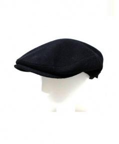 Borsalino(ボルサリーノ)の古着「アルパカモヘヤ混ハンチング」|ブラック