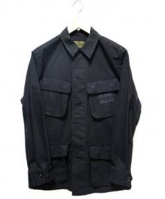 WACKO MARIA(ワコマリア)の古着「ファティーグジャケット」|ブラック