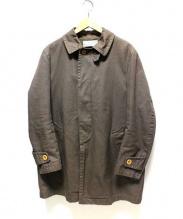 KOLOR(カラー)の古着「ステンカラーコート」|ブラウン