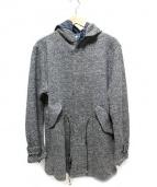 dip ltd(ディップ ( ディテール イン パーフェクション ))の古着「ウールフード付コート」|グレー