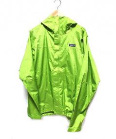 Patagonia(パタゴニア)の古着「シェルジャケット」|黄緑