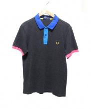 FRED PERRY(フレッドペリー)の古着「ポロシャツ」|グレー