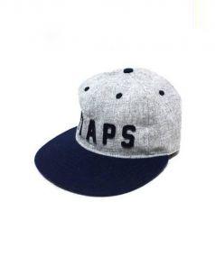 WTAPS(ダブルタップス)の古着「ベースボールキャップ」 グレー×ネイビー