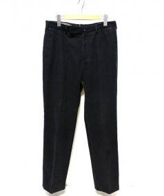 INCOTEX(インコテックス)の古着「コーデュロイパンツ」 ブラック