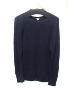 FilMelange(フィルメランジェ)の古着「リネン混ニット」|ネイビー