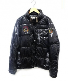 AVIREX(アヴィレックス)の古着「中綿ジャケット」 ブラック
