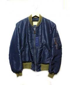 Buzz Ricksons(バズリクソンズ)の古着「MA-1ジャケット」 ネイビー