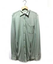 Martin Margiela1(マルタンマルジェラ1)の古着「ダブルジップシャツ」|グリーン
