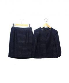 ANAYI(アナイ)の古着「スカートスーツ」 ネイビー