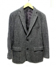 SOUTHWICK(サウスウィック)の古着「ツイードジャケット」|グレー