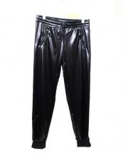 MOSCHINO(モスキーノ)の古着「サイドラインジャージパンツ」|ブラック