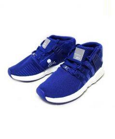adidas(アディダス)の古着「ミッドカットスニーカー」 ブルー×ホワイト