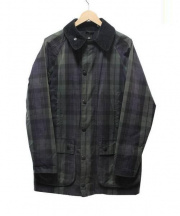 Barbour(バブアー)の古着「SL BEAUFORT WAX BLACK WATCH」|グリーン