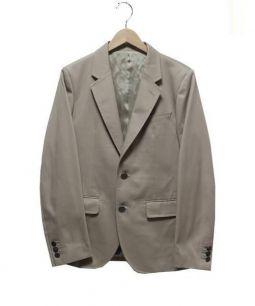 WACKOMARIA(ワコマリア)の古着「刺繍テーラードジャケット」 ベージュ