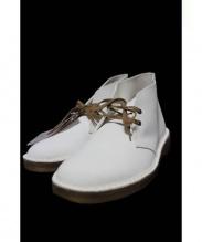 CLARKS ORIGINAL(クラークス オリジナル)の古着「デザートブーツ」|ホワイト