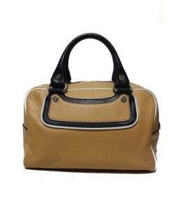 CELINE(セリーヌ)の古着「ブギーハンドバッグ」|キャメル